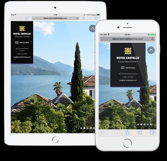 Castello 2.0 WordPress Theme Responsive Preview