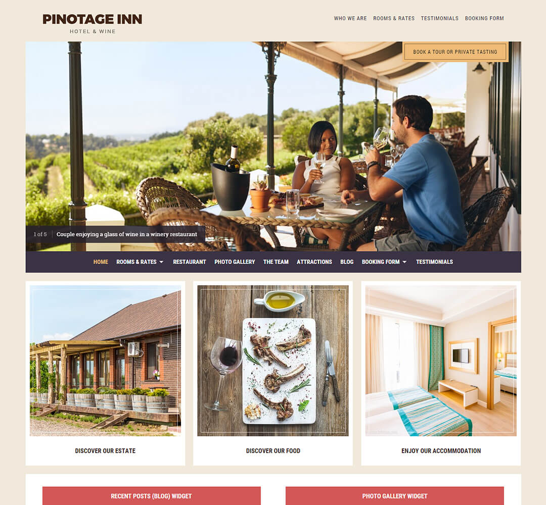 Pinotage WordPress Theme Screenshot