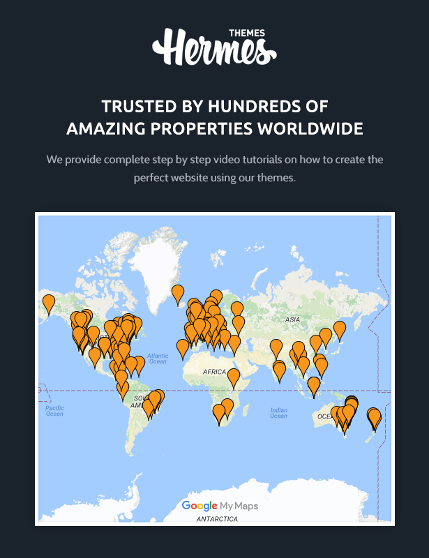 HermesThemes Clients Map